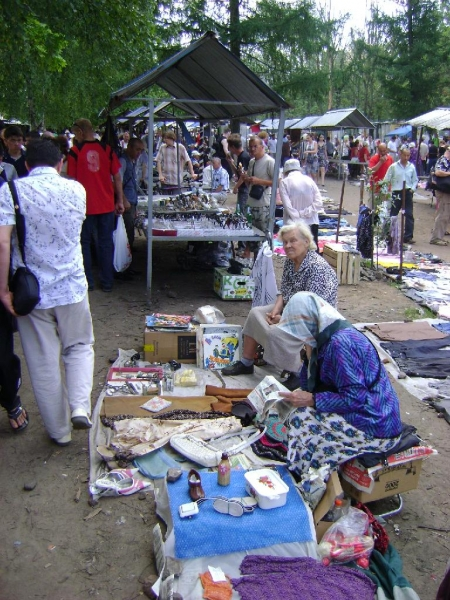 Рынок на Удельной, «Блошиный» рынок в Санкт-Петербурге ...