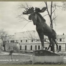 Лось (скульптура, Выборг) — Википедия